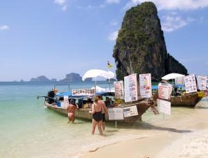 Phra Nang Beach ved Railay