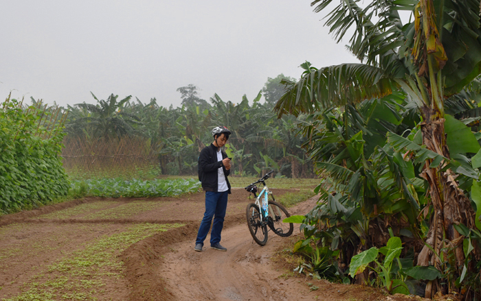 cykeltur i hanoi